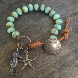 "Perlenarmband Starfish ""Seahorse"""